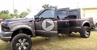 six door ford truck 6 door truck we all want this custom ford f250 harley davidson