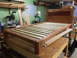 bedroom build bed frame with storage plywood bed frame queen