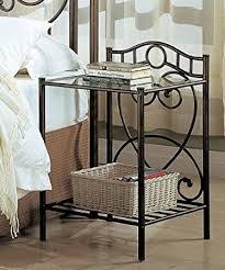 Metal Bedside Table Metal Nightstand Amazing Metal Nightstands U Bedside Tables Shop