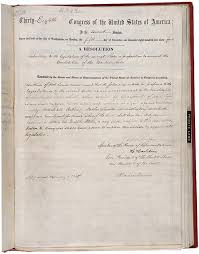 our documents 13th amendment to the u s constitution abolition