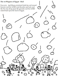 the 10 plagues of egypt hail coloring pages jpg 1 019 1 319 pixels