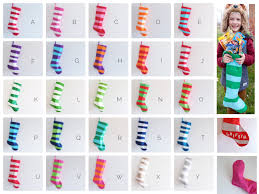 modern stockings personalized christmas stocking personalized
