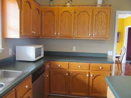 what color backsplash with honey oak cabinets countertop and backsplash for honey oak cabinets