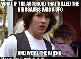 What If Dinosaur Meme - lol s club laugh out loud s club what if the asteroid that