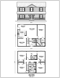 4 bedroom floor plans 2 story floor plans for homes 2 story