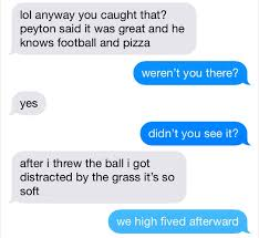 Text Message Meme - leaked eli manning and odell beckham s text message convo after
