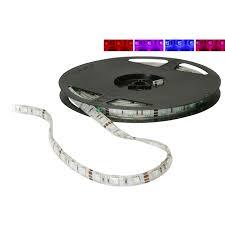12 volt led light strips waterproof lavolta rgb 300 smd5050 led 16 ft tape lighting strip 12 vdc