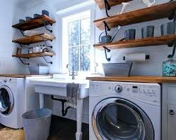 Laundry Room Decorating Accessories Laundry Room Decor And Accessories Combine Wide And Narrow Storage
