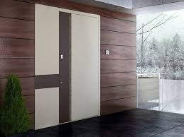 Flush Exterior Door Fitting Entry Door With Concealed Hinges Zen Base By Interno Doors