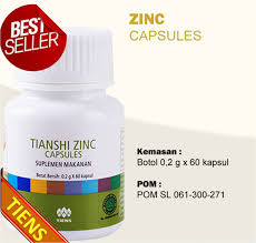 Obat Zinc tiens herbal