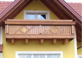 holzbalkon holz balkongeländer leeb balkone - Balkone Holz