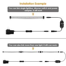 how to hardwire under cabinet lighting albrillo led under cabinet lighting dimmable warm white 12w 900