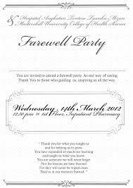Matter For Invitation Card Matter For Farewell