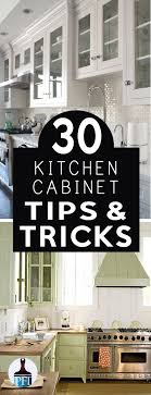 30 Kitchen Cabinet 30 Kitchen Cabinet Tips Tricks Painted Furniture Ideas