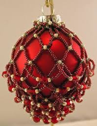 181 best ornament covers images on beaded