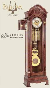 German Grandfather Clocks Bulova Grandfather Clock G1020 Wellington