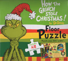 how the grinch stole christmas floor puzzle jigsaw puzzles
