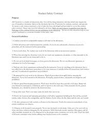 flinn scientific u0027s student safety contract