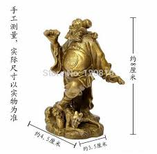 ymy 323 zhong kui copper ornaments like buffy stepped zhong kui