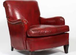 Red Club Chair Leather Chair Red Hastac2011 Org