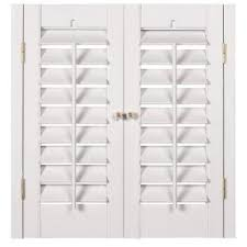 interior window shutters home depot homebasics plantation faux wood white interior shutter price varies