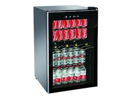 igloo 150 can adjustable temp beverage and wine center black