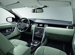 discovery land rover interior 2017 2018 land rover discovery sport and range rover evoque get new engines