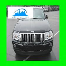 jeep grand cherokee front grill amazon com 2005 2010 jeep grand cherokee chrome trim for grill