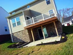 exterior home design for mac ideas ryan homes sienna duplex with decking for home design idea