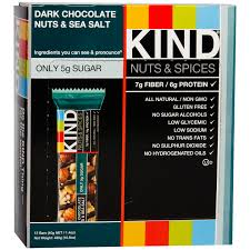 Kind Bars Dark Chocolate Nuts U0026 Sea Salt 12ct Gluten Free 6g by Kind Healthy Snacks Diet Weight Loss Foods And Supplements Rapid