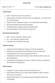 Hr Assistant Resume Human Resources Officer Cv Sample In Manager Resume 23 Captivating