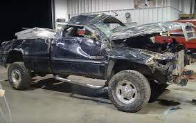 wrecked dodge trucks wrecked dodge ram still runs 5 cars zone