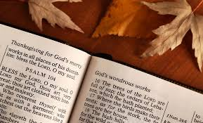 what does thanksgiving american bible society news