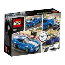 lego ford set amazon com lego speed champions ford mustang gt 75871 toys u0026 games