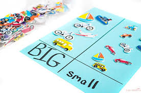 kindergarten activities big and small transportation theme preschool activities life over cs