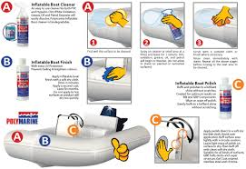 inflatable boat cleaning u0026 finishing guide polymarine paints