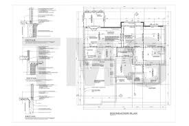 Sample House Foundation Plans Tin Can Cabin House Luxihome