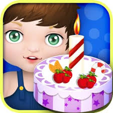 buy baby birthday cake maker cooking games in cheap price on m