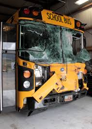 Utah travel buses images School bus crashes into service truck 1 taken to hospital 3 hour jpg