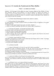 description d une chambre en anglais séquence n 4 lecture de frankenstein de shelley texte 1