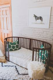 Mini Crib Vs Full Size Crib by Your New Favorite Family Heirloom Stokke 4 In 1 Convertible Bed
