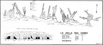 la jolla map la jolla sea caves ropewiki