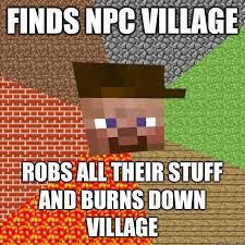 Funny Villager Memes - scumbag minecraft memes quickmeme minecraft memes pinterest