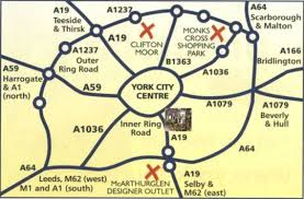 road map of york chelmsford place guest house york centre accommodation york