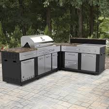 Outdoor Kitchen Cabinets And More Outdoor Sinks Cabinets More Lowes Inspirations Including Premade