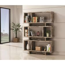 Distressed White Bookcase by Furniture Home Ideas Decoration Fine Looking White Painted Study