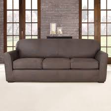 Slipcovers T Cushion Sofas Fabulous Stretch Slipcovers Sure Fit Sofa Covers Grey T