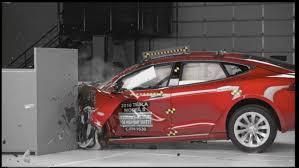 tesla model s scores well in crash safety tests but falls short of