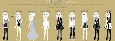 Art Owl Meme - ere wardrobe meme by owl bones on deviantart