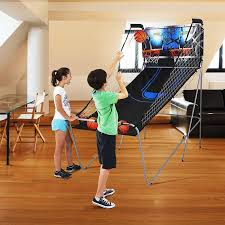 electronic basketball amazon com leisure sports u0026 game room